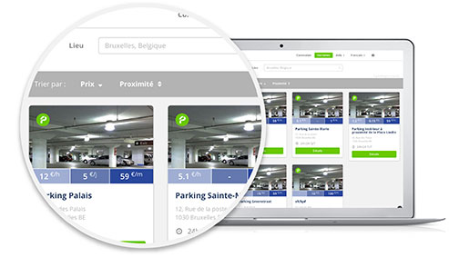 Photo - Parking Mobile Smartcity Recherche